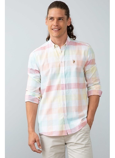 U.S. Polo Assn. Gömlek Pembe